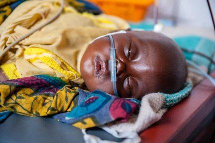 Szpital w Kongu leczy także najmniejszych pacjentów